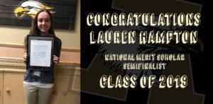 Lauren Hampton _National merit