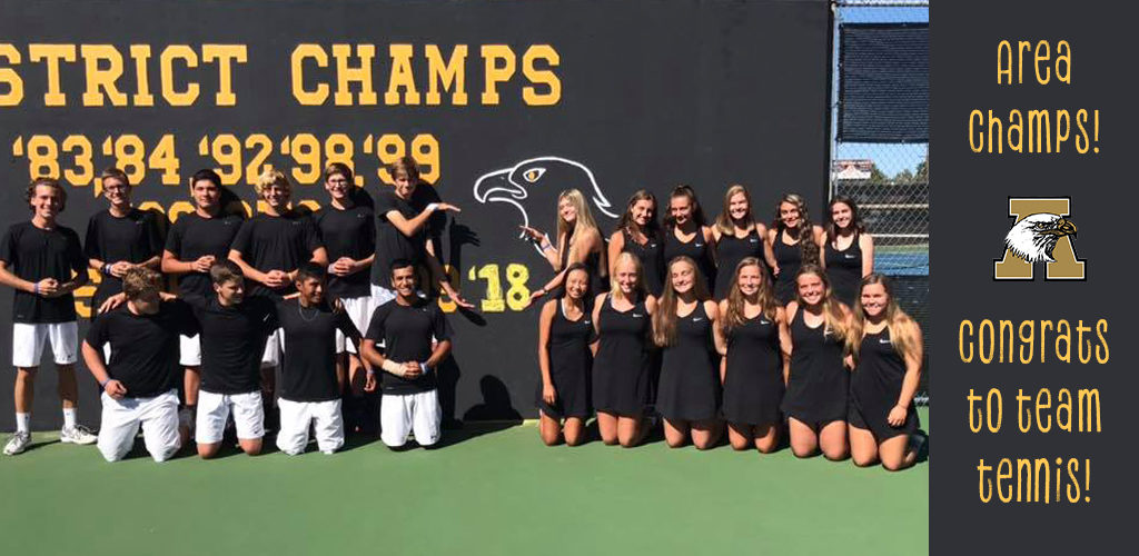 Team Tennis_Area Champs