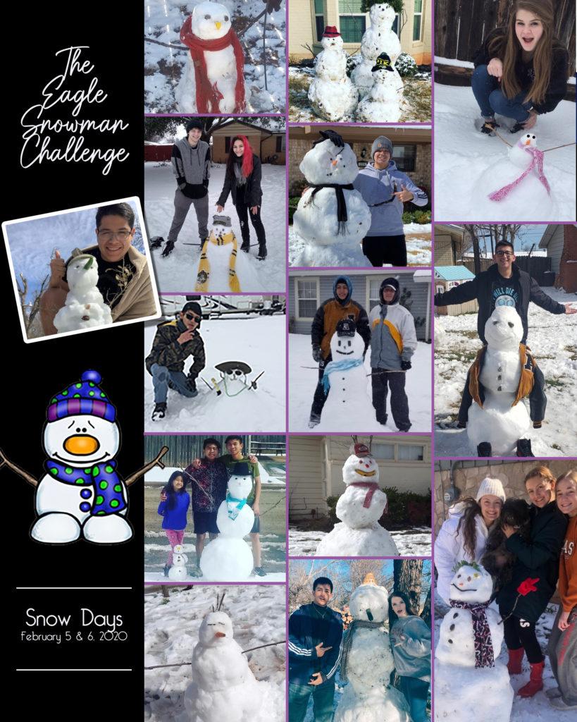 AHS Snowman Challenge