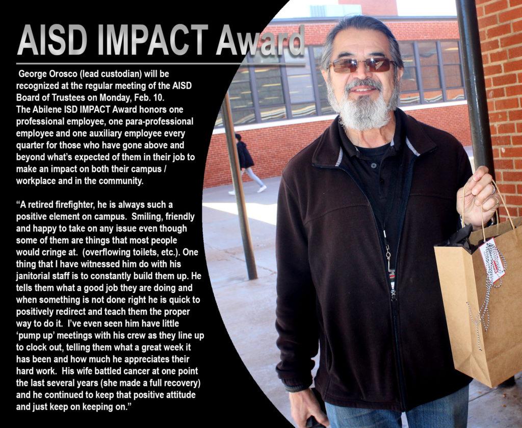 AISD Impact award