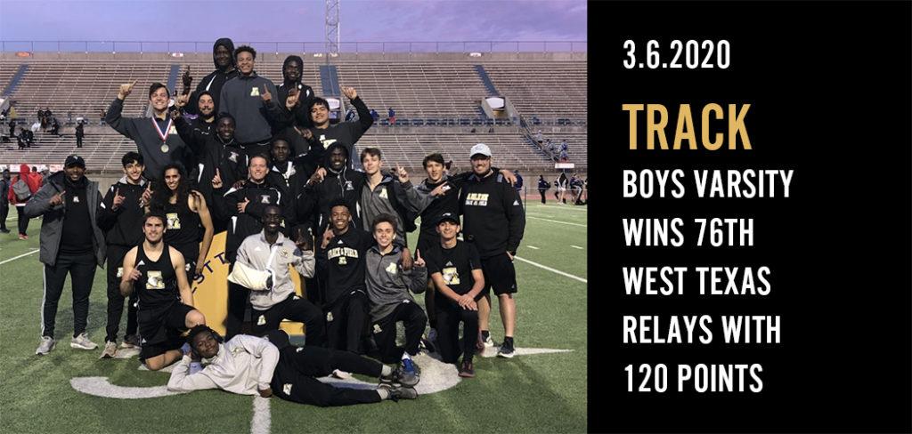 Boys Track 3.6.2020