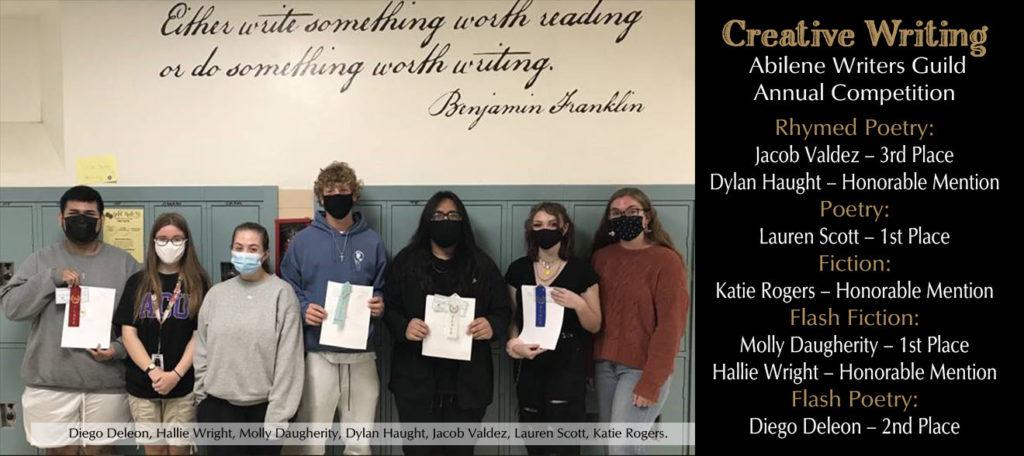 Creative Writing Winners