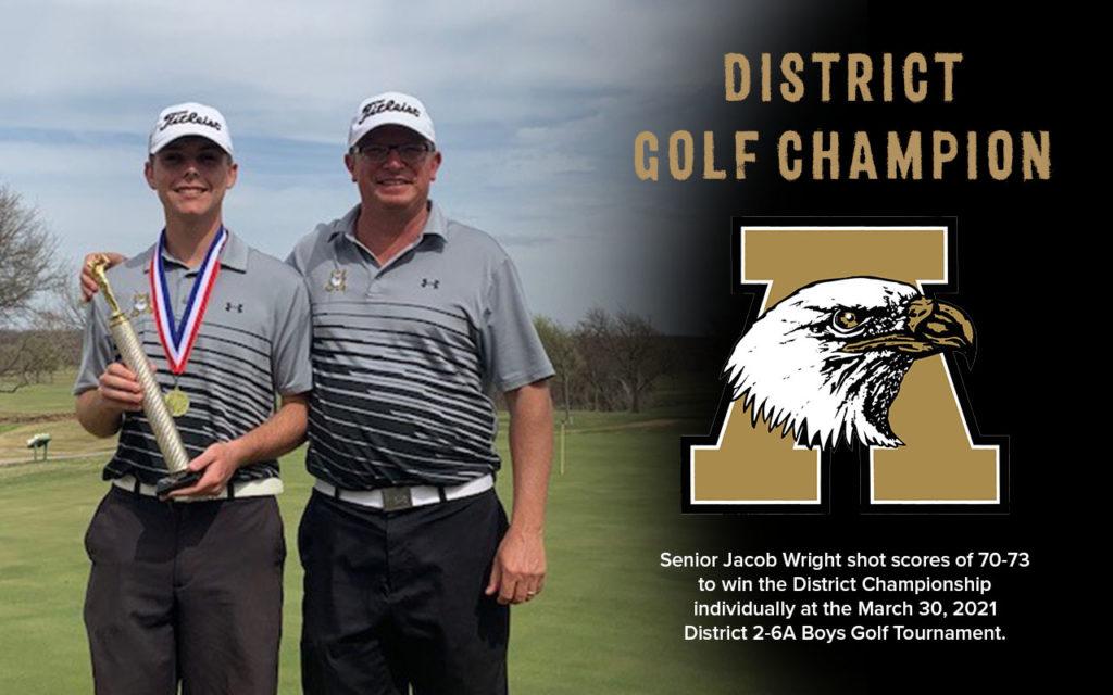 District Golf Champion