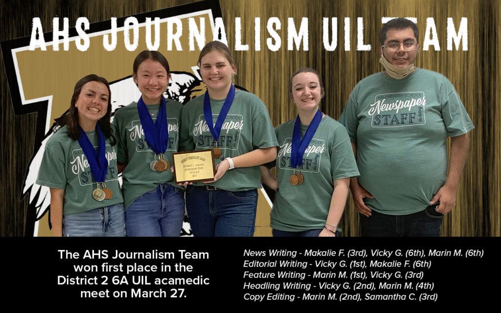 UIL Journalism 2021