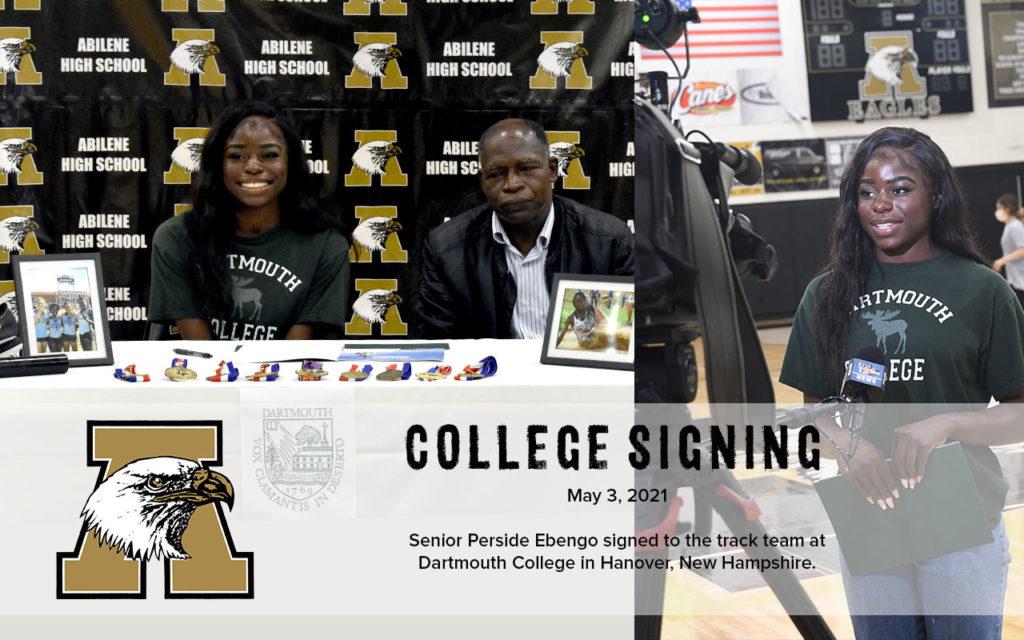 College Signing Perside Ebengo