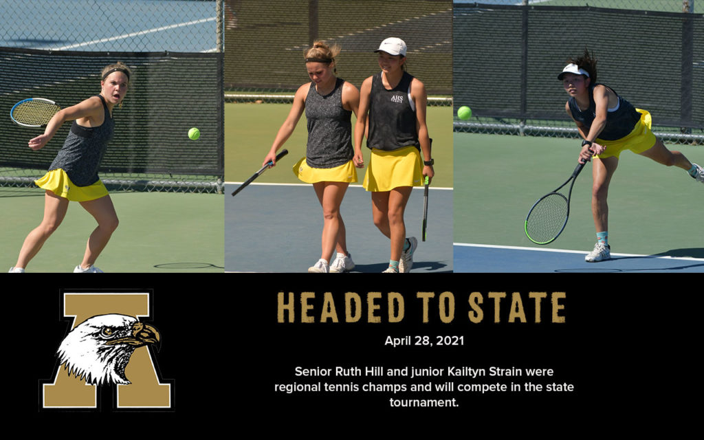 AHS Tennis State Tournament