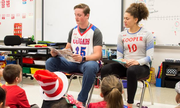 Celebrity Readers Share Their Stories at Bowie's Reading Rodeo