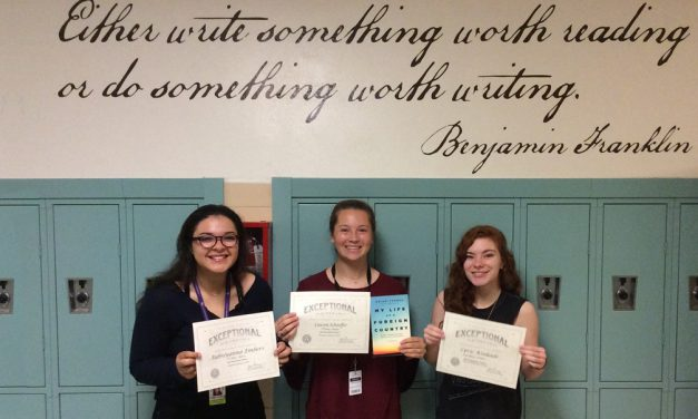 Creative Writing Students Win Awards