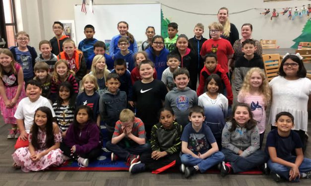 """SPOTLIGHT: Bowie Elementary's """"Writing Buddies"""" Make a Special Connection with Military"""