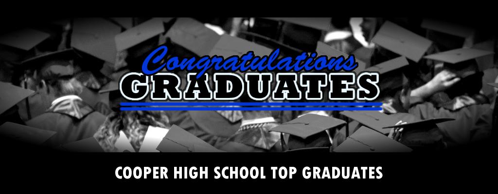 Cooper High School Top Graduates