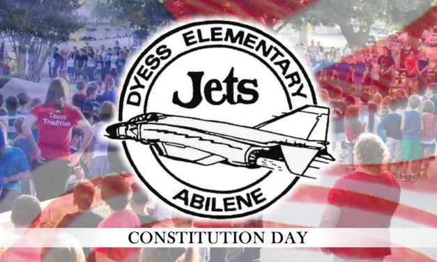 Constitution Day at Dyess Elementary