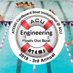 ATEMS Cardboard Boat Invitational Back For Third Year at ACU