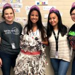 SPOTLIGHT: Cooper High is Preparing for Inspections & Creating Fashion from Newspapers