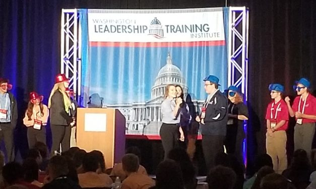 Cooper CTE Student, Advisor Attend Leadership Institute in Washington, DC