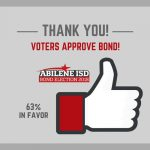 Voters Approve 2018 Bond Proposal