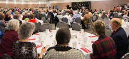 About 400 Retired Employees Enjoy Annual Retiree Luncheon