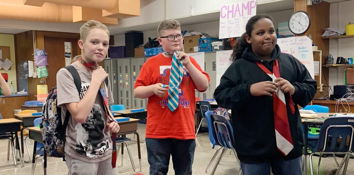 "Spotlight: Jackson Elementary's ""Boys Club"" Teaches Team-Building, Service To Others"