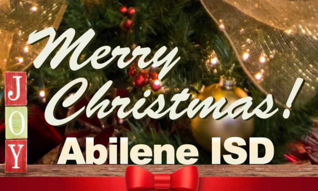 Merry Christmas From Abilene ISD