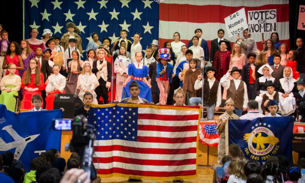 "Veterans, Military Honored at Dyess Elementary's ""I Love America Day"""