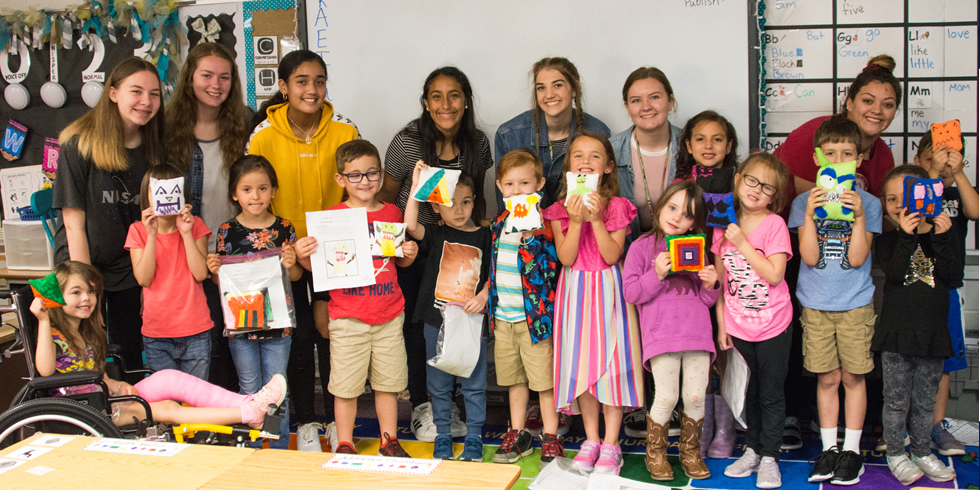 "CHS Students Bring ""Monsters"" to Life at Ward Elementary"