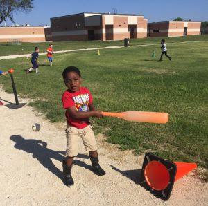 Bonham PE Baseball Game