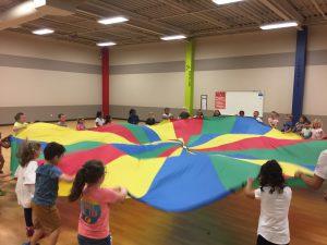 Bonham PE parachutes