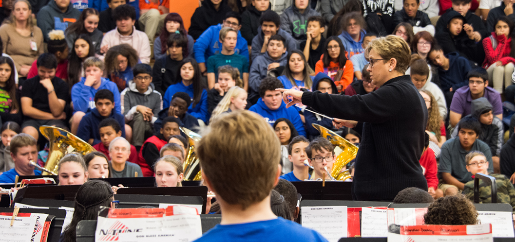 AISD middle school band students fare well in contest