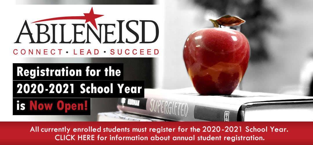 Enrollment / Registration for 2020-21 school year begins May 1