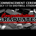Graduation 2020: Register now for seats at Shotwell