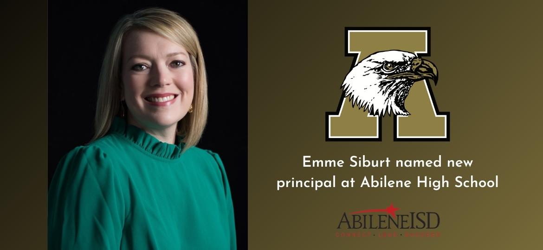 AHS Instructional Specialist, Emme Siburt, named new principal at AHS