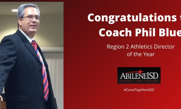 AISD's Phil Blue named Region 2 Athletics Director of the Year