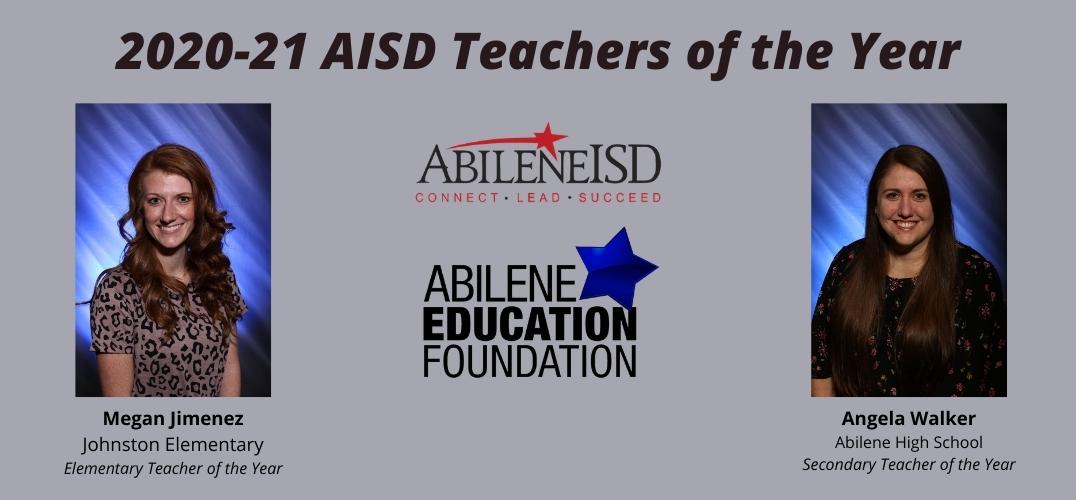Megan Jimenez, Angela Walker honored as AISD Teachers of the Year at AEF Dinner