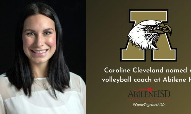 Caroline Cleveland takes over Abilene High volleyball program