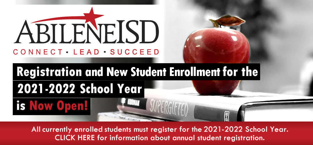 Enrollment / Registration for 2021-22 school year continues online