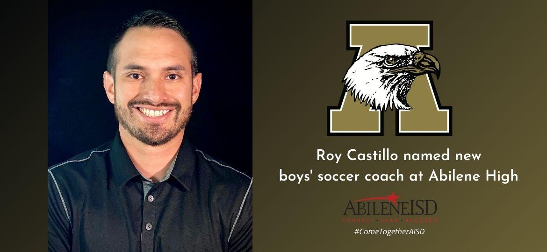 Roy Castillo tabbed to lead AHS boys' soccer program