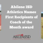 Abilene ISD Athletics names first recipients of Coach of the Month award