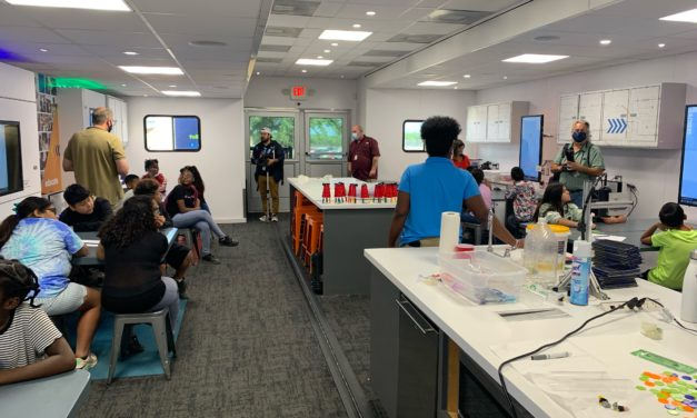 Mobile STEM Lab helps Ortiz students Engineer a day of learning