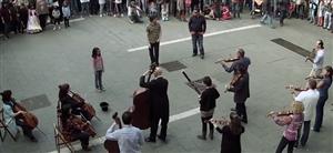 Beethoven flash mob