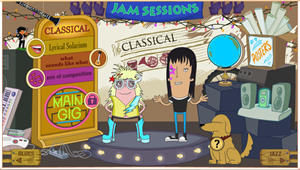 Musical Styles game