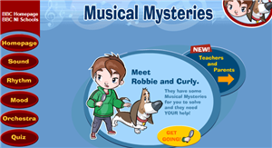 Musical Mysteries games