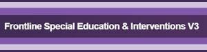 Frontline Special Education & Interventions V3